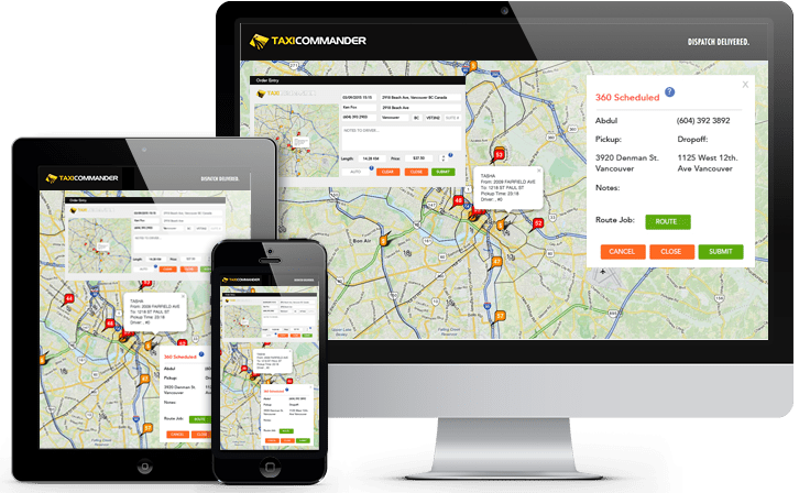 Cloud Based Taxi Dispatch